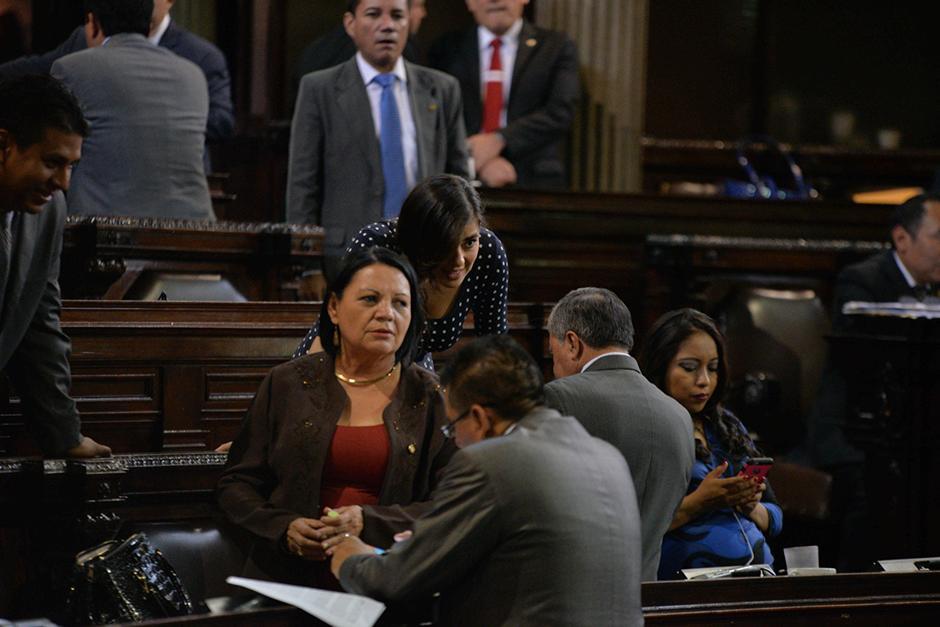 La diputada Laura Franco fue citada por la Junta Directiva del Congreso, por aparentemente haber insultado a la gobernadora de Alta Verapaz. (Foto: Jesús Alfonso/Soy502)