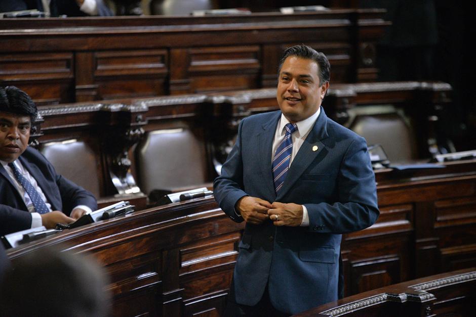 El Jefe de Bancada de FCN-Nación, Javier Hernández, fue citado por la Junta Directiva del Congreso. (Foto: Jesús Alfonso/Soy502)