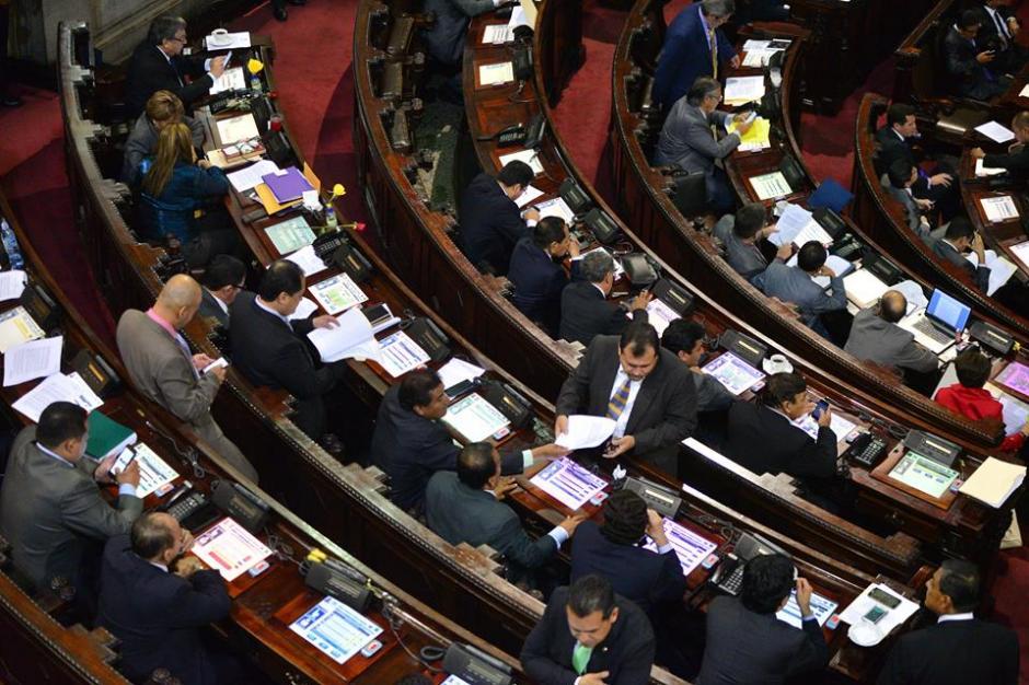 Esta es la panorámica del Congreso mientras se desarrolla la sesión. (Foto: Wilder López/Soy502)