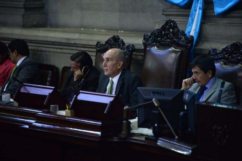 Mario Taracena es el presidente del Congreso de la República. (Foto: Wilder López/Soy502)