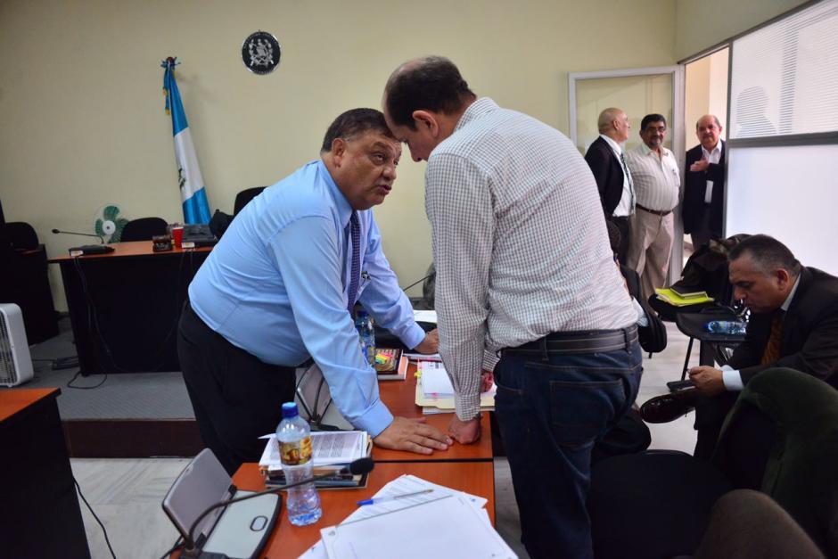 Las diligencias se desarrollaron en el Juzgado Décimo de Instancia Penal. (Foto: Jesús Alfonso/Soy502)