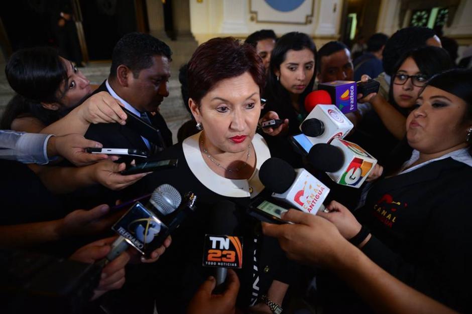 Las investigaciones sobre las contrataciones en el Congreso avanzan, dijo la Fiscal General. (Foto: Wilder López/Soy502)