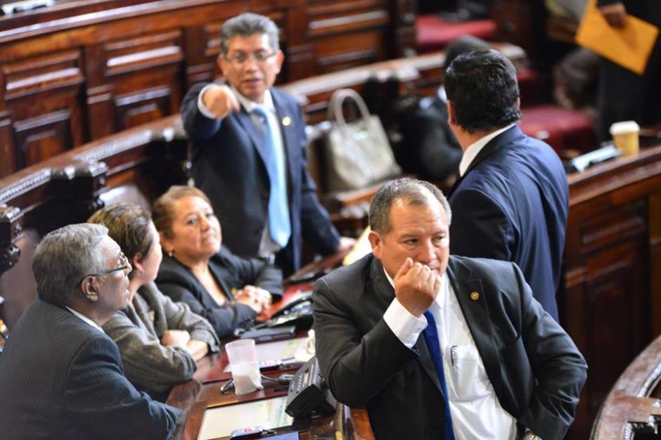 Los parlamentarios discuten los puntos que comenzarán a ser realidad el otro martes. (Foto: Jesús Alfonso/Soy502)