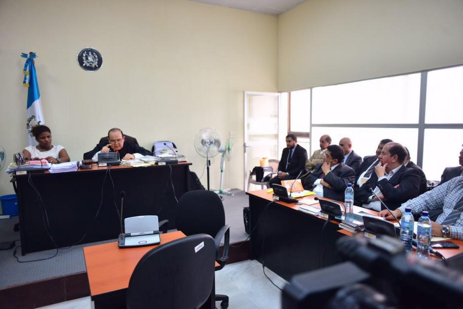 El juez Walter Villatoro ligó a proceso a tres exdiputados y al exdirector General del Congreso. (Foto: Jesús Alfonso/Soy502)