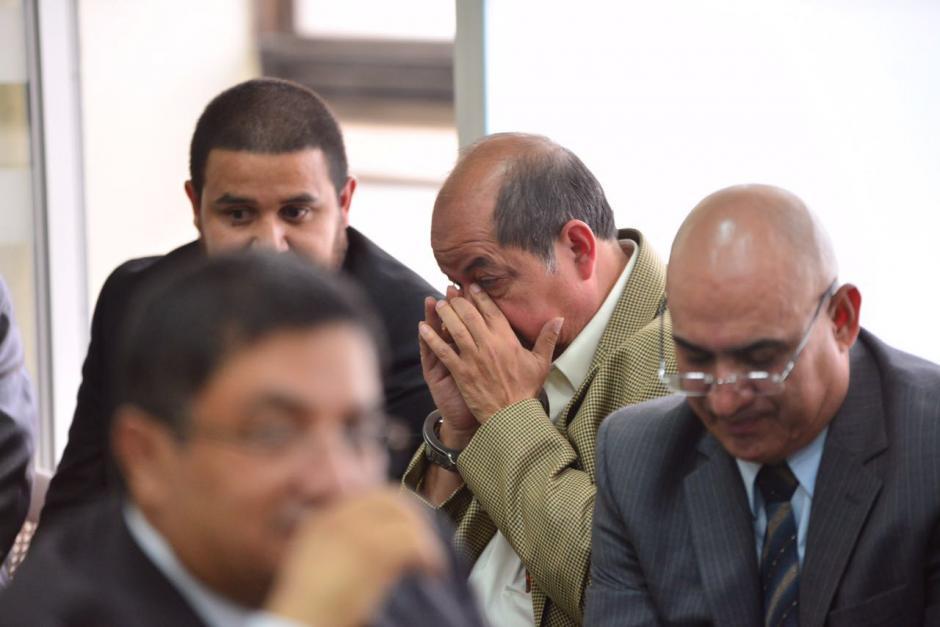 Alfredo Rabbé atento a la resolución del juez Villatoro. (Foto: Jesús Alfonso/Soy502)