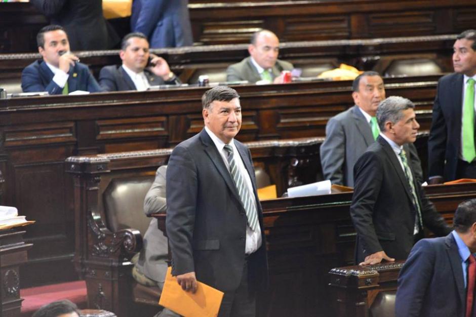 En el pleno los diputados observaban atentos cada votación. (Foto: Jesús Alfonso/Soy502)