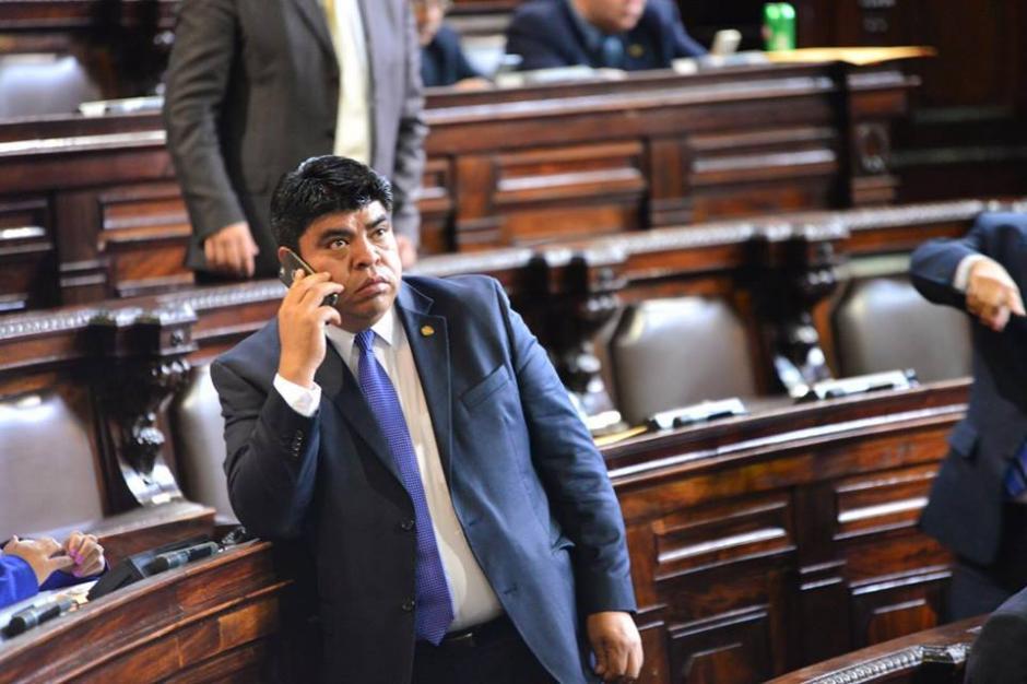 Los diputados no parecían muy a gusto con las modificaciones a la Ley Electoral. (Foto: Jesús Alfonso/Soy502)