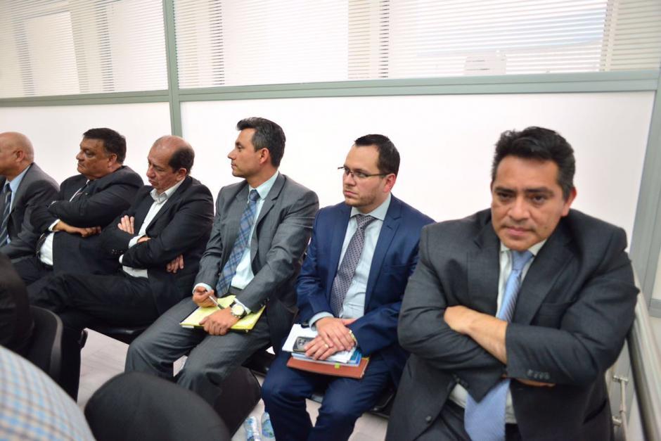 Tres exdiputados y un exdirector del Congreso fueron ligados a proceso. (Foto: Jesús Alfonso/Soy502)
