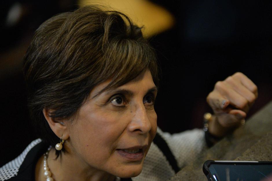 La diputada y activista por los derechos humanos, Nineth Montenegro, está en el décimo lugar. (Foto: Archivo/Soy502)