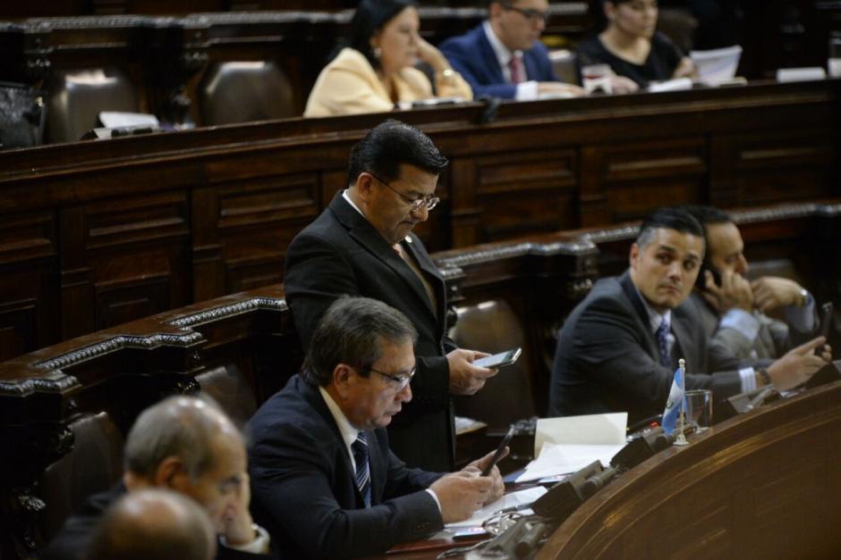 Los legisladores intentaron dar una amnistía judicial. (Foto: Wilder López/Soy502)