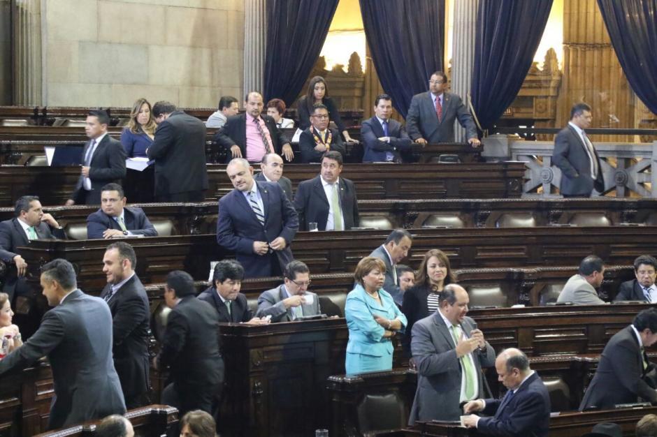 El estado de calamidad solo obtuvo 47 votos, por lo que fue improbado. (Foto: Alejandro Balán/Soy502)