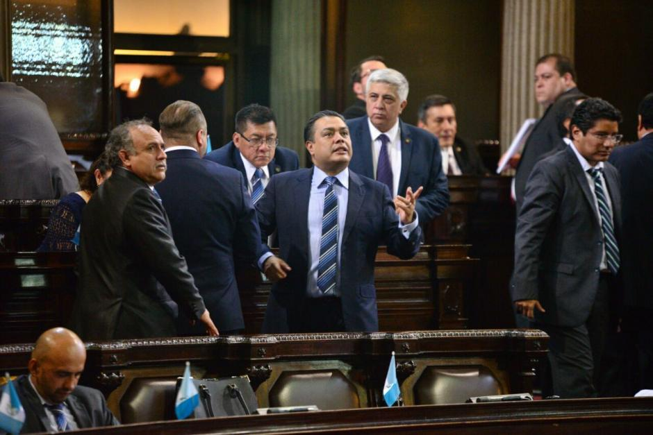 Varios diputados de FCN se desmarcaron para no perder la votación. (Foto: Wilder López/Soy502)
