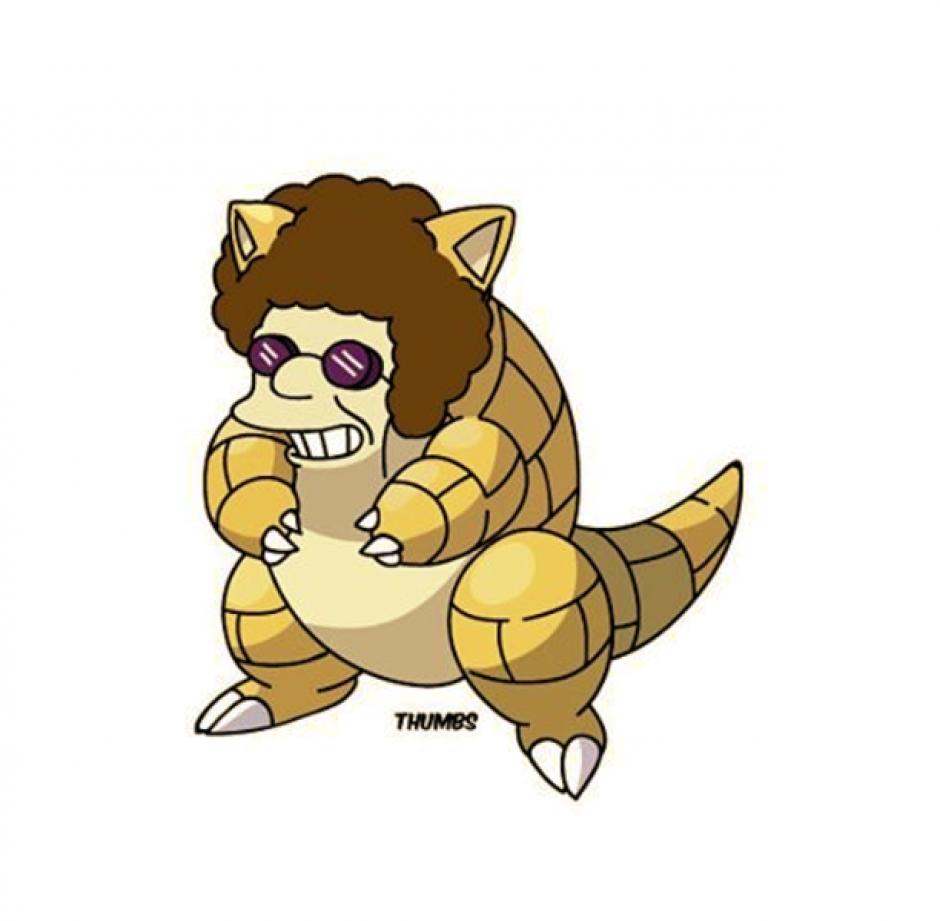 Disco Sand Stu le pone ritmo a las batallas. (Foto: Instagram Thumbs)