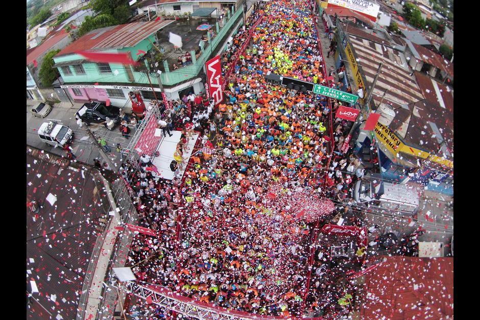 Al Medio Maratón de Cobán acuden miles de corredores nacionales e internacionales. (Foto: Archivo/Nuestro Diario)