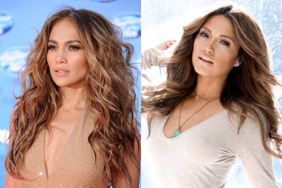 Jessica Burciaga, la doble de Jennifer López, JLO, está causando furor en las redes sociales.