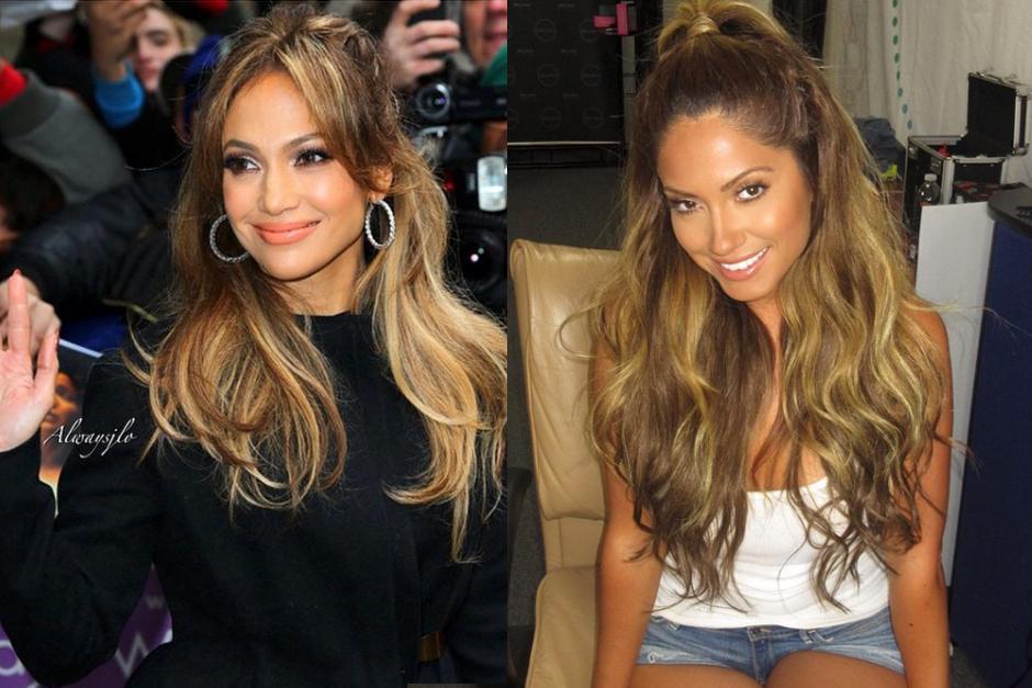 El parecido es enrome entre Jessica y Jennifer.