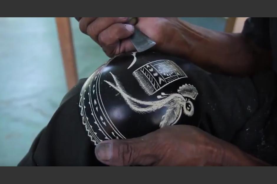 Un video narra la elaboración de las artesanías de Morro. (Foto:captura de pantalla)
