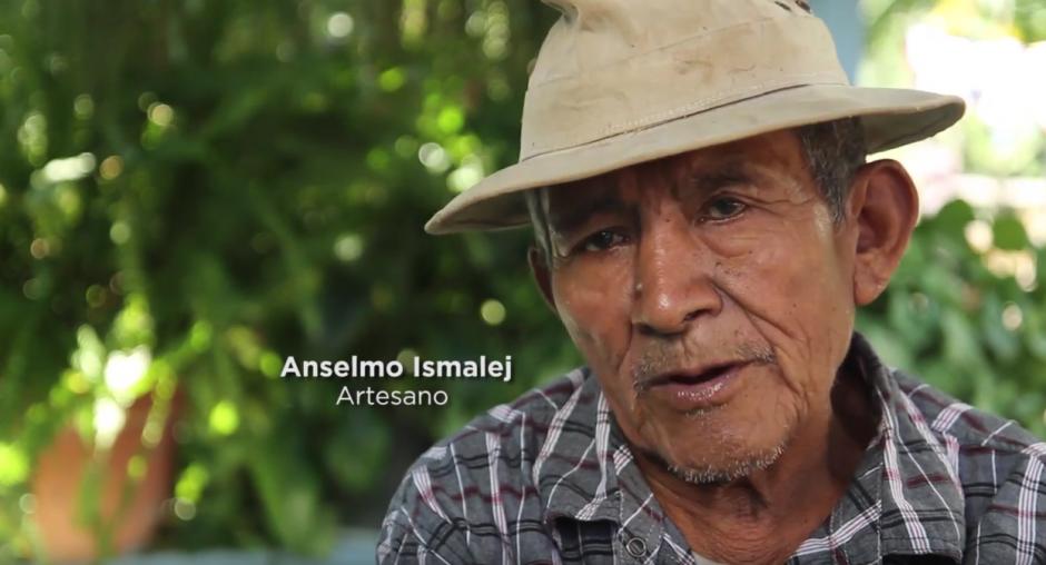 Don Anselmo Ismalej es uno de los artesanos guardianes de esta tradición. (Foto: captura de pantalla)