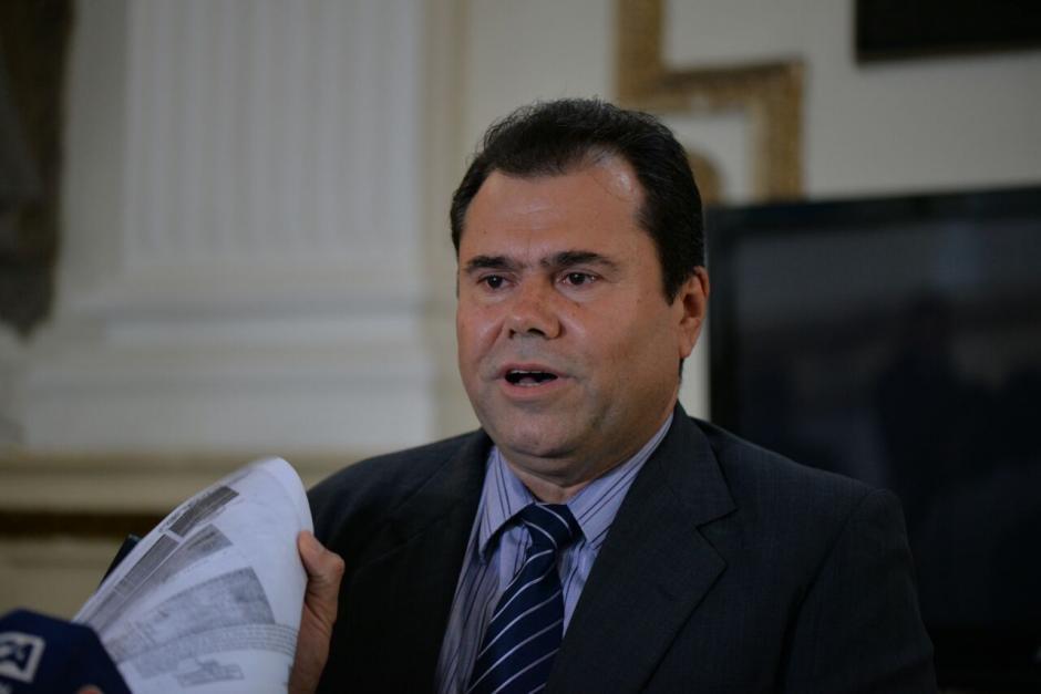Trejo señala que no renunciará, pese a haber perdido su inmunidad. (Foto: Wilder López/Soy502)