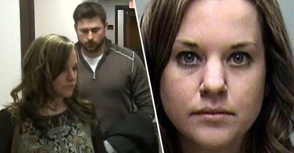 Sara Domres fue detenida en abril pasado tras encontrarla responsable de haber abusado de uno de sus alumnos. (Foto: Dailymail)