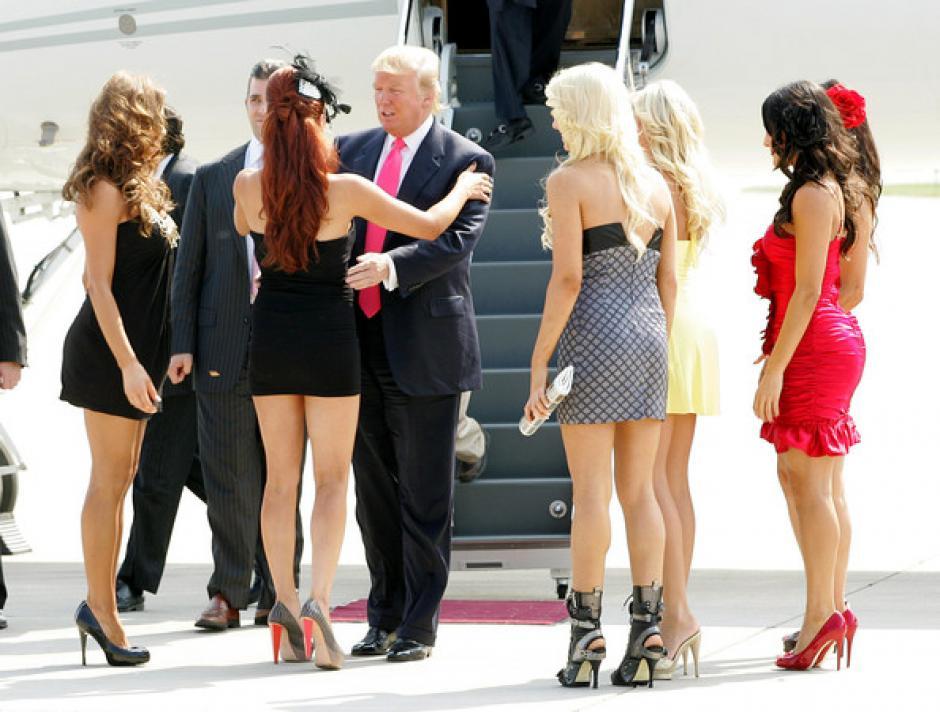 Trump estuvo en una película de Playboy en el año 2000. (Foto: zimbio.com)