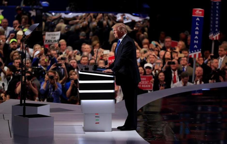 La convención se efectuó en Cleveland, Ohio. (Foto: EFE)