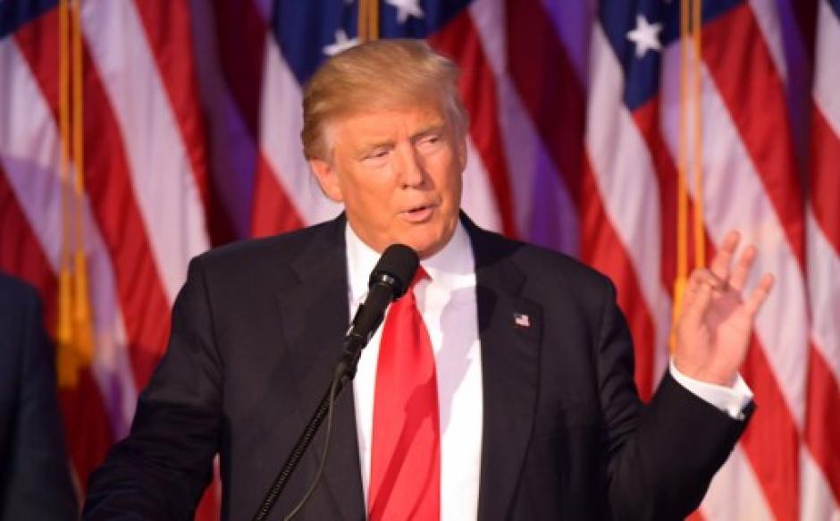 Trump aseguró que será el presidente de todos los estadounidenses. (Foto: AFP)