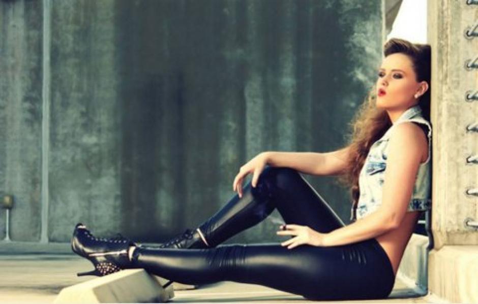 Donya Moghadam es una modelo iraní. (Foto: Infobae)