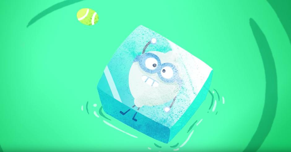 Te convertirás en un cubo de hielo si pierdes. (Captura de pantalla: Google/YouTube)