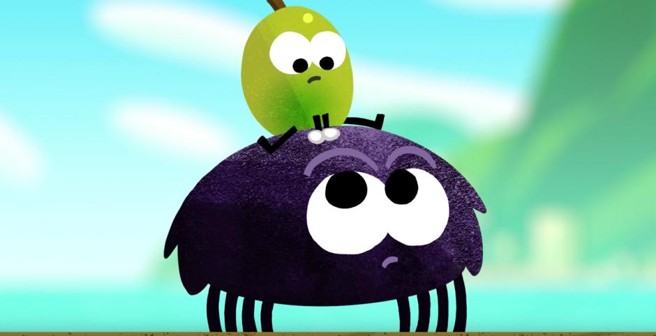 A dar saltos con esta simpática araña. (Captura de pantalla: Google/YouTube)