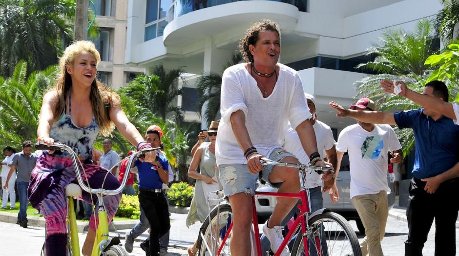 """""""La bicicleta"""" tiene un ritmo urbano muy pegajoso. (Foto: Doral News)"""
