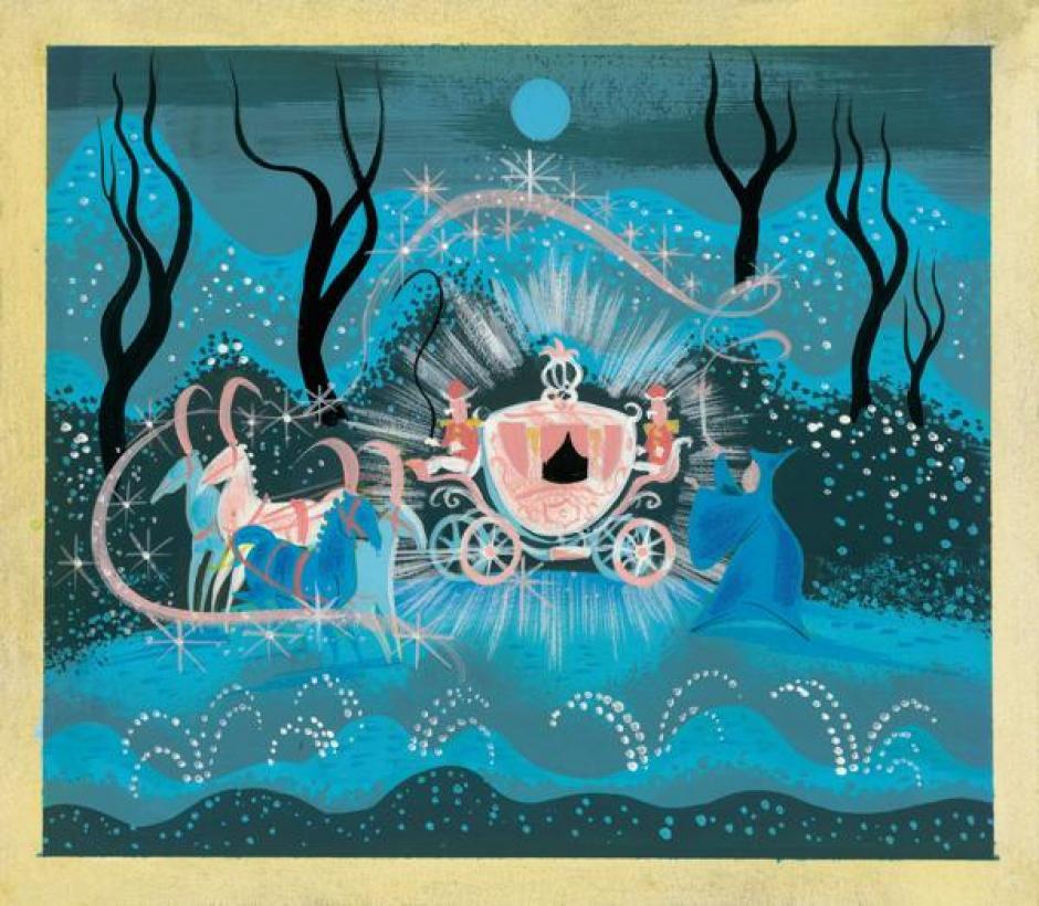 """Arte conceptual de """"La Cenicienta"""" por Mary Blair . (Foto: infobae.com)"""