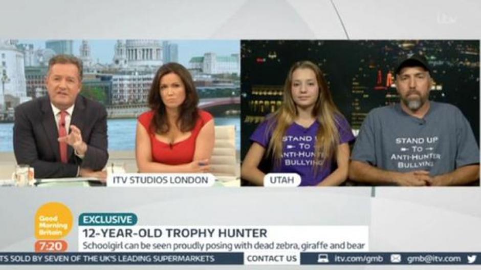 """Gourdin y su padre accedieron a dar una entrevista al programa """"Good Morning Britain"""". (Foto: infobae.com)"""