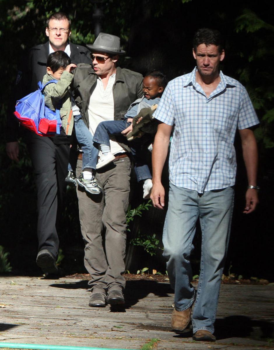 Durante un periodo de 18 meses Mark Billingham fue el jefe de seguridad de la familia Brangelina. (Foto: quien.com)