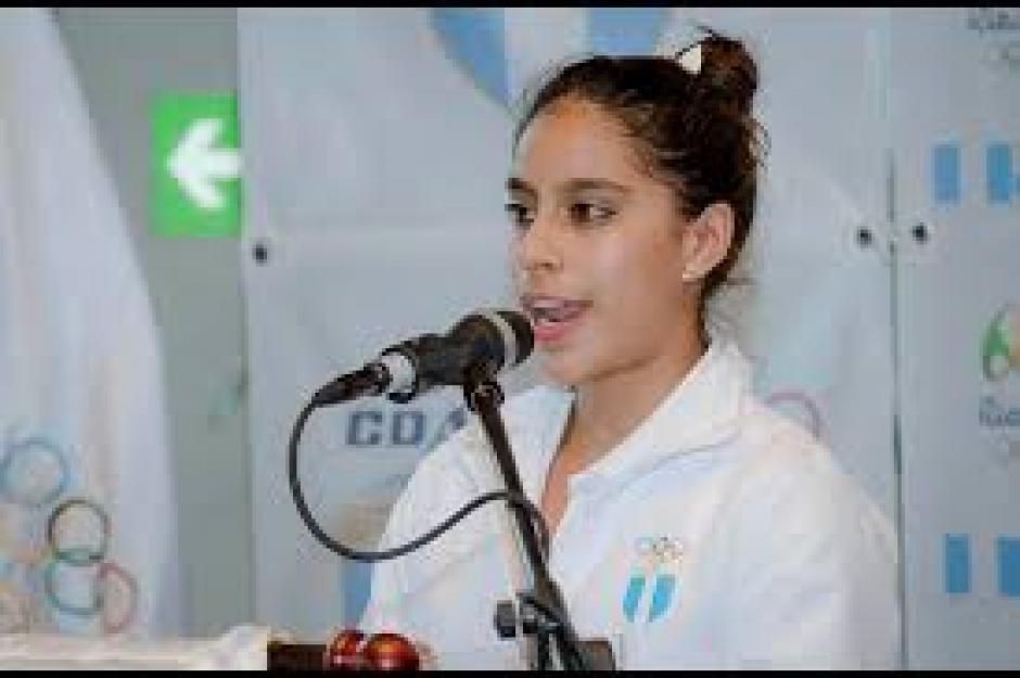 Ana Sofía Gómez representará al país en la disciplina artística de gimnasia. (Foto: Eddie Lara/Soy502)