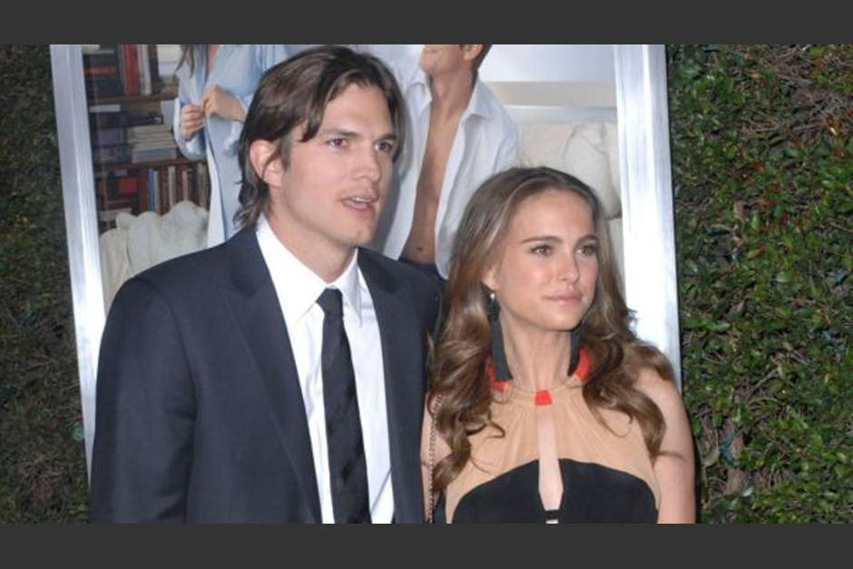 Natalie Portman y Ashton Kutcher trabajaron juntos en el filme No Strings Attached (2011). (Foto: Infobae)