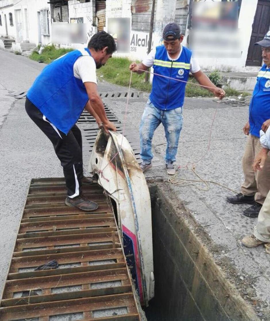 Las autoridades hacen un llamado a los vecinos.  (Foto: Municipalidad de Villa Nueva)