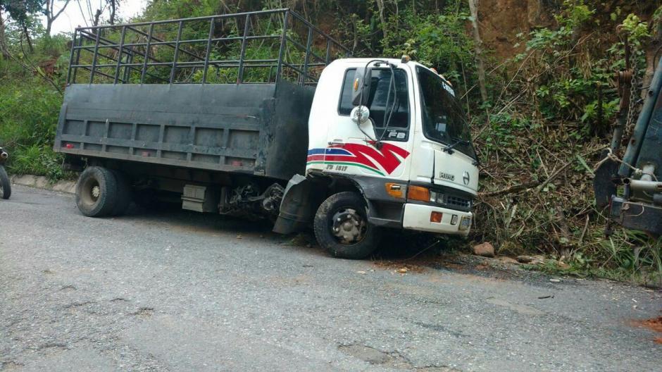 El decomiso se realizó en el kilómetro 331 de la ruta hacia Santa Ana Huista, Huehuetenango. (Foto: PNC)