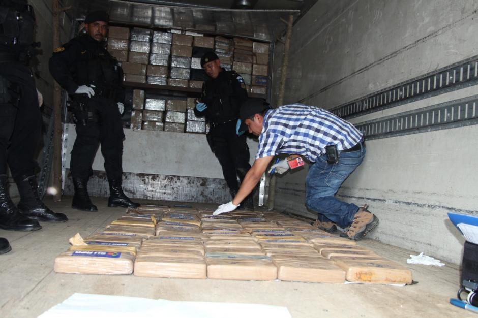 Se presume que la droga era movilizada desde Escuintla hacia Quetzaltenango. (Foto: PNC)