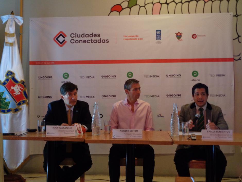 Ciudades Conectadas es una iniciativa que quiere promover la cultura ciudadana. (Foto: Wendy Del Cid/soy502)