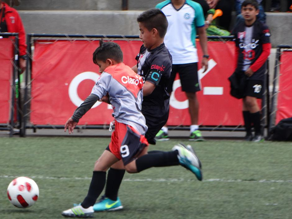 La final fue una demostración de alto nivel futbolístico infantil. (Foto: cortesía Darianelly Aquino)
