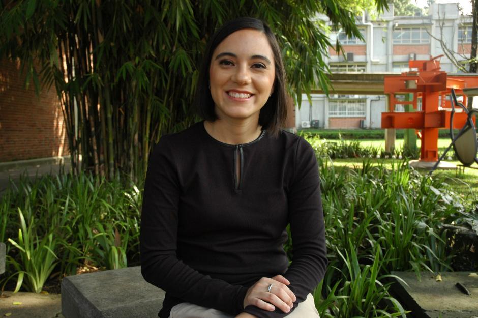 Marie André espera que su proyecto del exoesqueleto pueda llegar a Guatemala para contribuir a la salud y a la rehabilitación.(Foto: Fredy Hernández/Soy502)