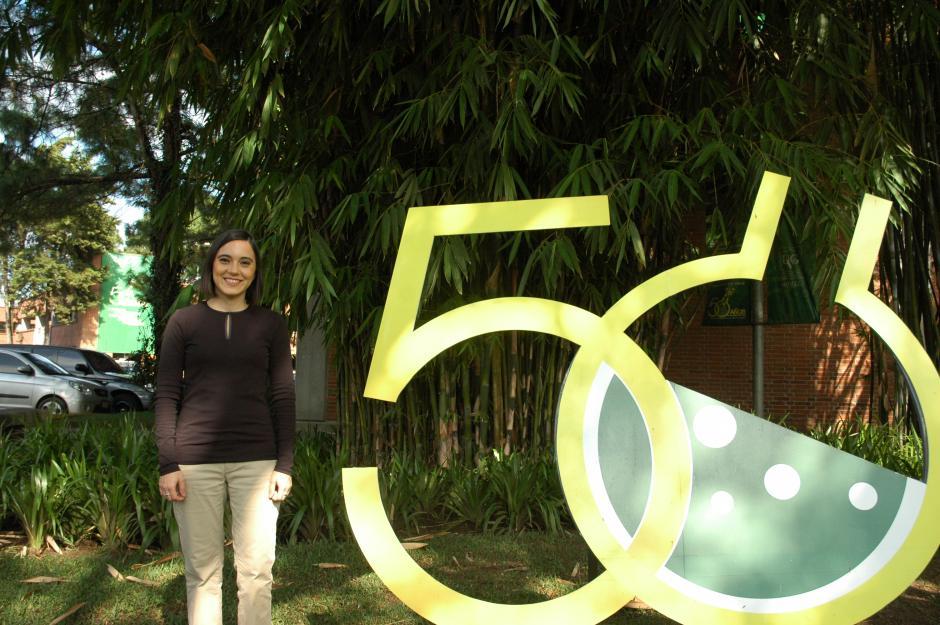 Marie André Destarac partió hace cuatro años a España donde se ha especializado en el campo de la robótica de rehabilitación. (Foto: Fredy Hernández/Soy502)