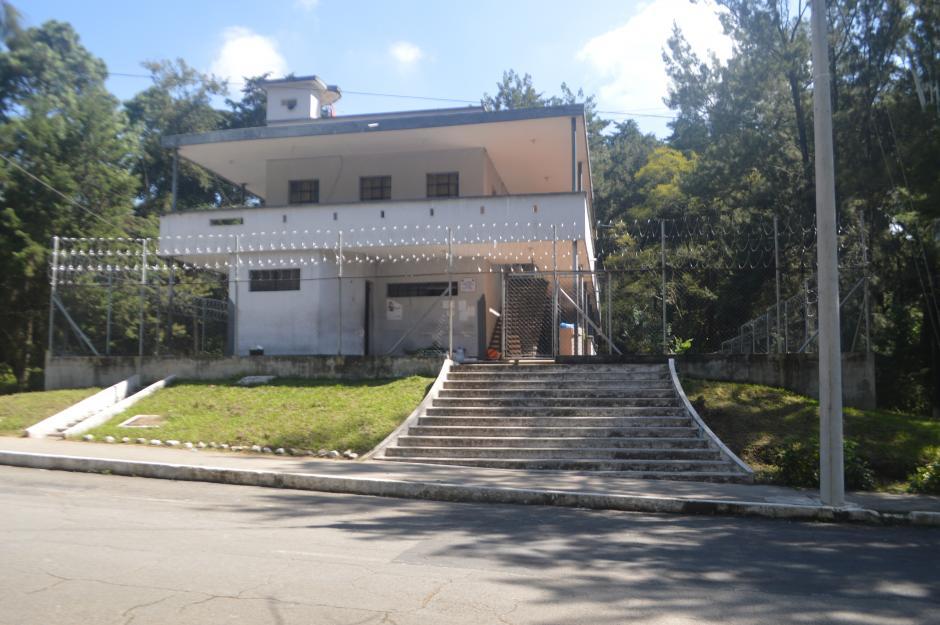 Vista de la antigua prisión Mariscal Zavala, donde estuvo recluido el expresidente Alfonso Portillo. La prisión fue clausurada y trasladada a otra área de la misma brigada. (Foto: Ministerio de la Defensa)
