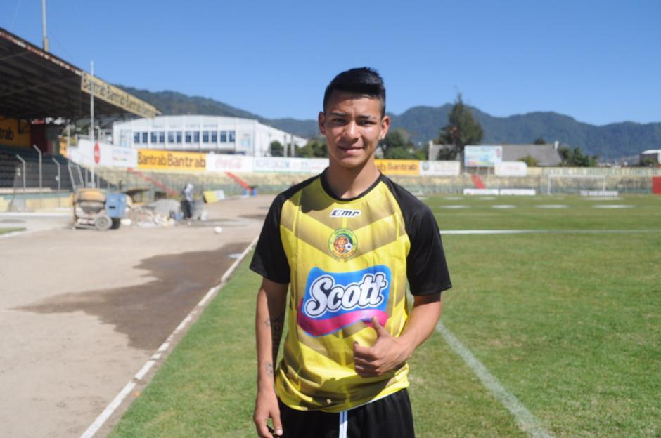 Kennet Mérida Lam es un prospecto de Marquense para el Clausura 2017. (Foto: Esner Navarro)
