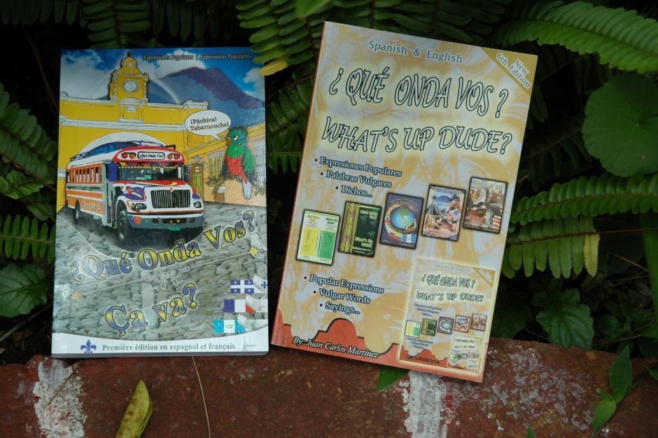 El libro puede ser utilizado por las personas de habla inglesa y francesa.(Foto: Fredy Hernández/Soy502)