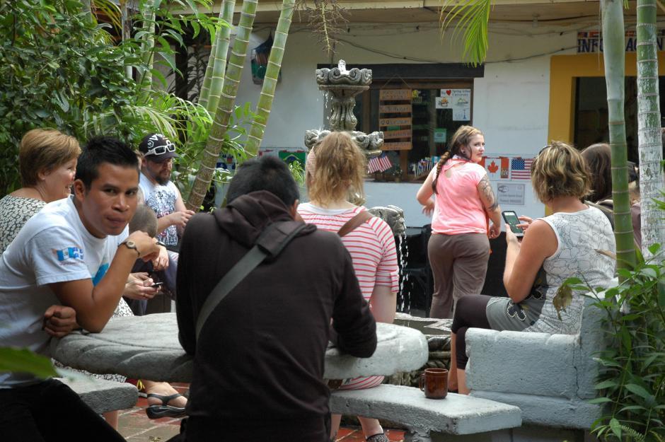 Muchos extranjeros deciden vivir en las casas de familas guatemaltecas para practicar su español en todo momento.(Foto: Fredy Hernández/Soy502)