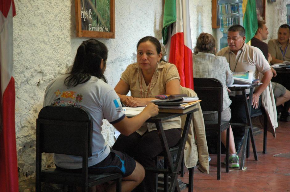 Los estudiantes en La Unión reciben cursos personalizados, de esta manera su aprendizaje del español es más satisfactorio.(Foto: Fredy Hernández/Soy502)