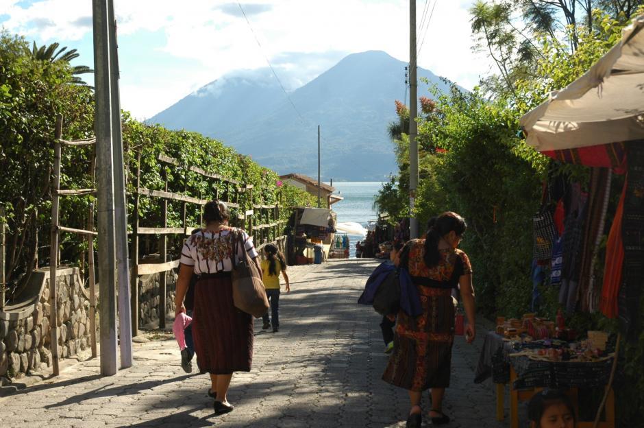 El pueblo es uno de los menos visitados por los turistas que viajan a Atitlán. (Foto: Fredy Hernández/Soy502)