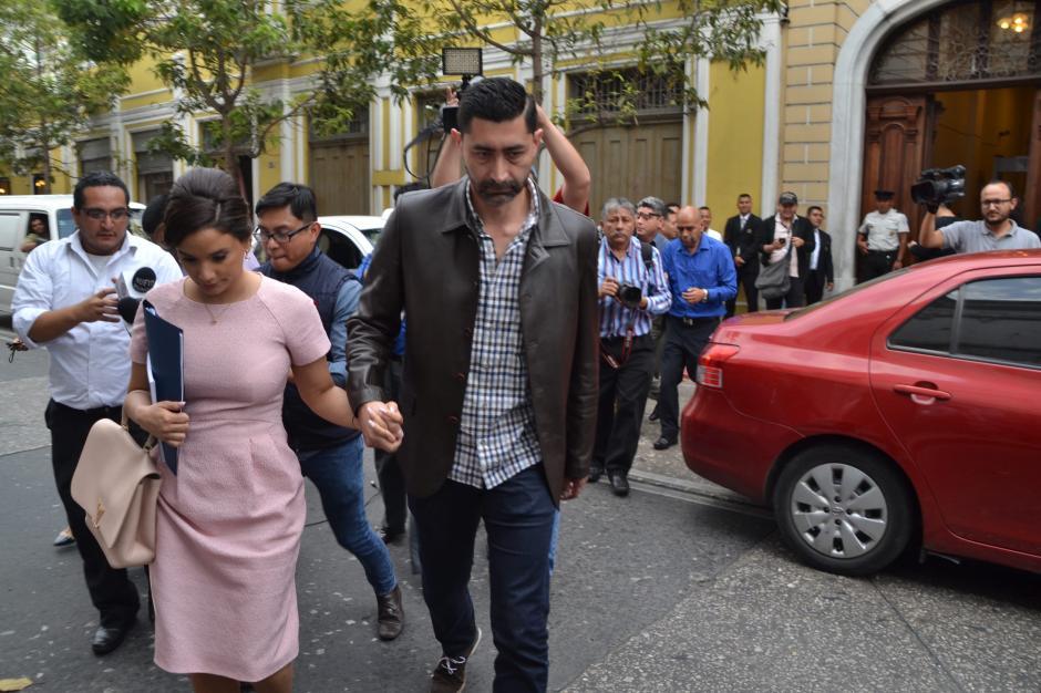 Pérez Leal busca que la bancada Patriota continúe a pesar de que el partido fue cancelado. (Foto: cortesía José Castro)